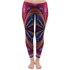 3d Abstract Ring Classic Winter Leggings by Simbadda