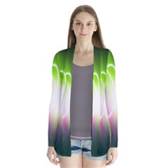 Lines Wavy Ight Color Rainbow Colorful Cardigans