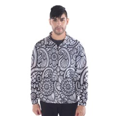 These Flowers Need Colour! Wind Breaker (men) by Simbadda