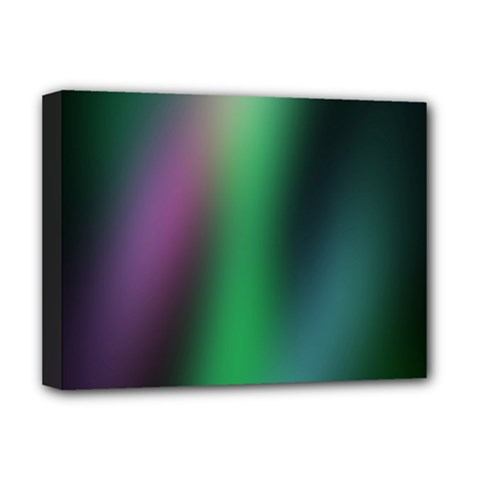 Course Gradient Color Pattern Deluxe Canvas 16  X 12