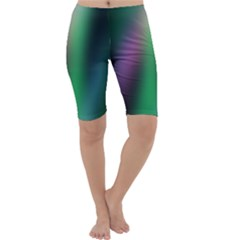 Course Gradient Color Pattern Cropped Leggings  by Simbadda