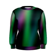 Course Gradient Color Pattern Women s Sweatshirt by Simbadda