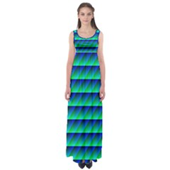 Background Texture Structure Color Empire Waist Maxi Dress by Simbadda