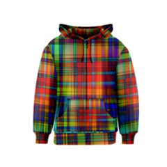 Abstract Color Background Form Kids  Zipper Hoodie