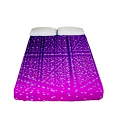 Pattern Light Color Structure Fitted Sheet (full/ Double Size) by Simbadda