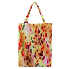 Background Color Pattern Abstract Classic Tote Bag by Simbadda