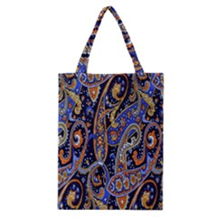 Pattern Color Design Texture Classic Tote Bag by Simbadda