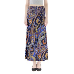 Pattern Color Design Texture Maxi Skirts