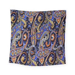 Pattern Color Design Texture Square Tapestry (small) by Simbadda