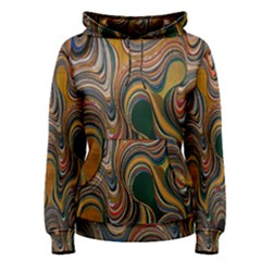 Swirl Colour Design Color Texture Women s Pullover Hoodie by Simbadda