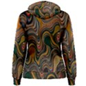 Swirl Colour Design Color Texture Women s Pullover Hoodie View2