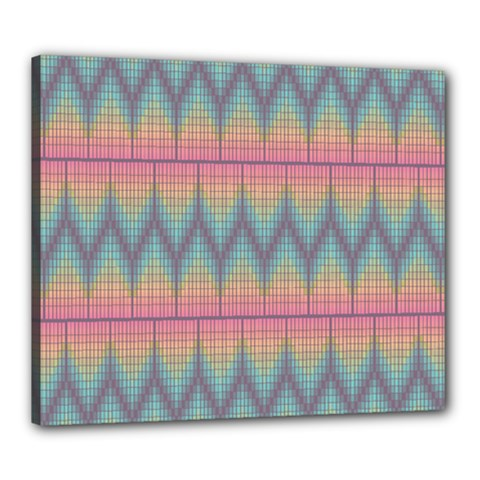 Pattern Background Texture Colorful Canvas 24  X 20