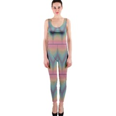 Pattern Background Texture Colorful Onepiece Catsuit