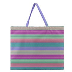 Backgrounds Pattern Lines Wall Zipper Large Tote Bag