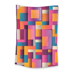 Abstract Background Geometry Blocks Small Tapestry by Simbadda