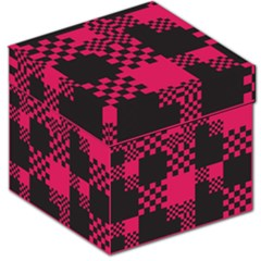 Cube Square Block Shape Creative Storage Stool 12   by Simbadda