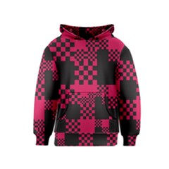 Cube Square Block Shape Creative Kids  Pullover Hoodie by Simbadda
