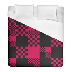 Cube Square Block Shape Creative Duvet Cover (full/ Double Size) by Simbadda