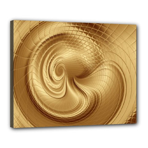 Gold Background Texture Pattern Canvas 20  X 16  by Simbadda