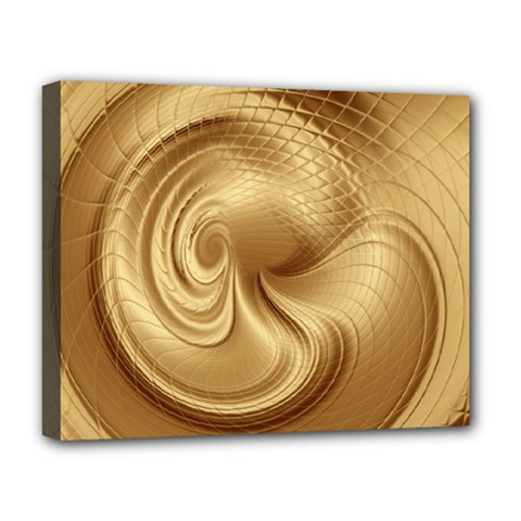 Gold Background Texture Pattern Deluxe Canvas 20  X 16   by Simbadda