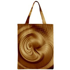 Gold Background Texture Pattern Classic Tote Bag by Simbadda