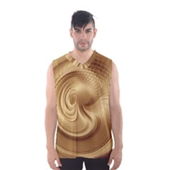 Gold Background Texture Pattern Men s Basketball Tank Top by Simbadda