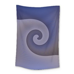 Logo Wave Design Abstract Small Tapestry by Simbadda