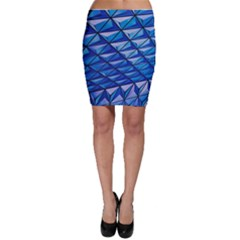 Lines Geometry Architecture Texture Bodycon Skirt by Simbadda