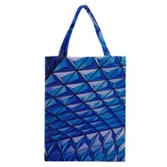 Lines Geometry Architecture Texture Classic Tote Bag by Simbadda