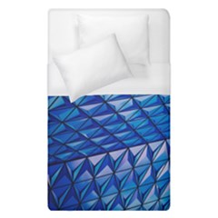 Lines Geometry Architecture Texture Duvet Cover (single Size) by Simbadda