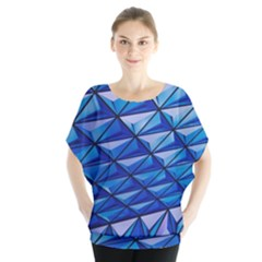 Lines Geometry Architecture Texture Blouse by Simbadda