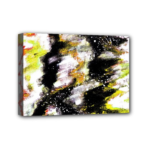 Canvas Acrylic Digital Design Mini Canvas 7  X 5  by Simbadda
