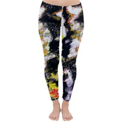 Canvas Acrylic Digital Design Classic Winter Leggings