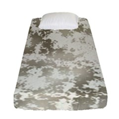 Wall Rock Pattern Structure Dirty Fitted Sheet (single Size) by Simbadda