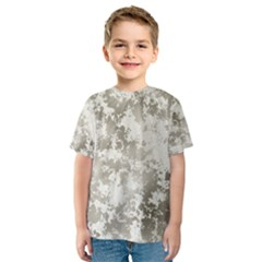 Wall Rock Pattern Structure Dirty Kids  Sport Mesh Tee