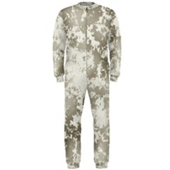 Wall Rock Pattern Structure Dirty Onepiece Jumpsuit (men)  by Simbadda