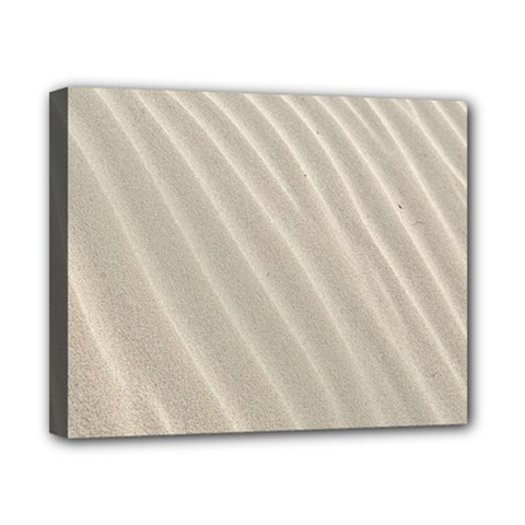 Sand Pattern Wave Texture Canvas 10  X 8  by Simbadda
