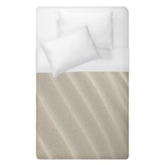 Sand Pattern Wave Texture Duvet Cover (single Size) by Simbadda