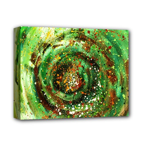 Canvas Acrylic Design Color Deluxe Canvas 14  X 11  by Simbadda