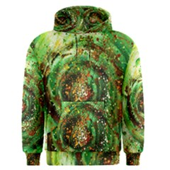 Canvas Acrylic Design Color Men s Pullover Hoodie by Simbadda