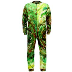 Canvas Acrylic Design Color Onepiece Jumpsuit (men)  by Simbadda