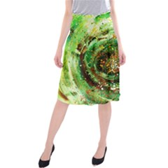 Canvas Acrylic Design Color Midi Beach Skirt by Simbadda