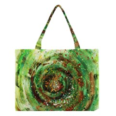 Canvas Acrylic Design Color Medium Tote Bag