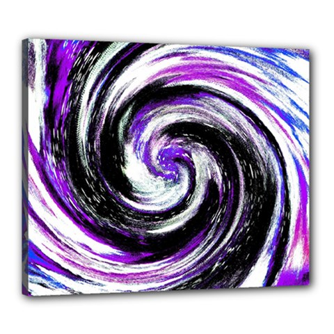 Canvas Acrylic Digital Design Canvas 24  X 20  by Simbadda