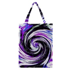 Canvas Acrylic Digital Design Classic Tote Bag by Simbadda