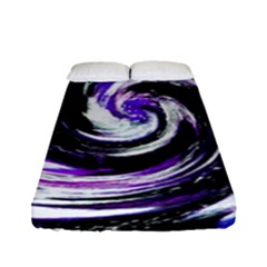 Canvas Acrylic Digital Design Fitted Sheet (full/ Double Size) by Simbadda