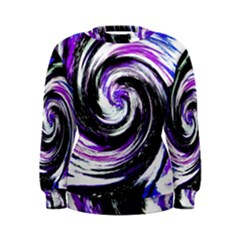 Canvas Acrylic Digital Design Women s Sweatshirt by Simbadda