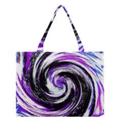 Canvas Acrylic Digital Design Medium Tote Bag by Simbadda