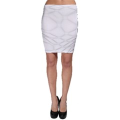 Line Stone Grey Circle Bodycon Skirt by Alisyart