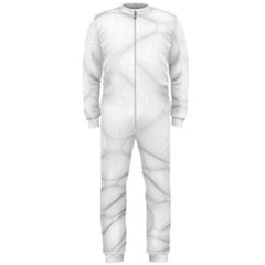 Line Stone Grey Circle Onepiece Jumpsuit (men)  by Alisyart